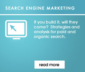 If you build it, will they come?  Strategies and analysis for paid and organic search.